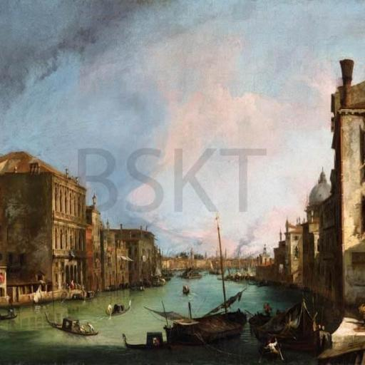 Cuadro en lienzo clásico de Venecia por Canaletto tamaño grande
