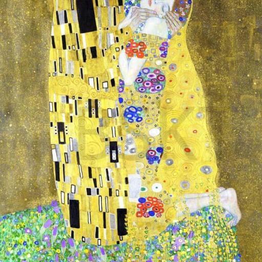 Cuadro famoso el beso de Gustav Klimt tamaño grande XXL