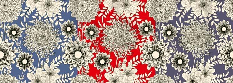 Cuadro para decorar cabecero grande plantas flores