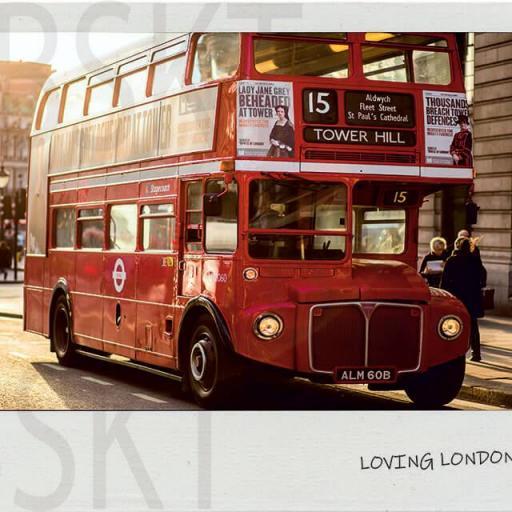 Cuadro en lienzo polaroid Londres [0]