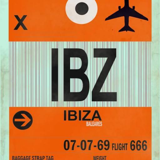 Cuadro en lienzo Ibiza alta resolución