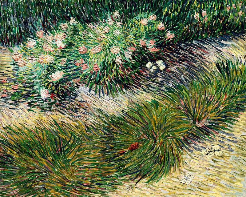 Cuadro en lienzo  plantas Vincent Van Gogh impresionista alta resolución impresionismo