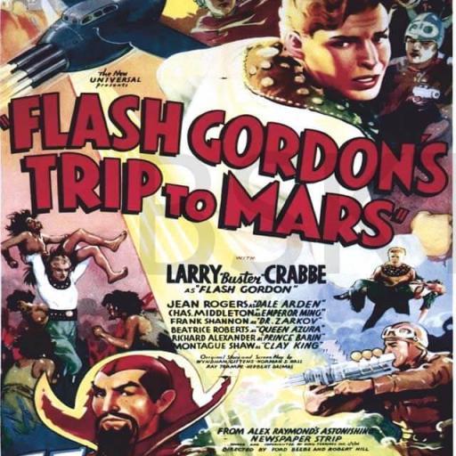 Cuadro en lienzo película Flash Gordon