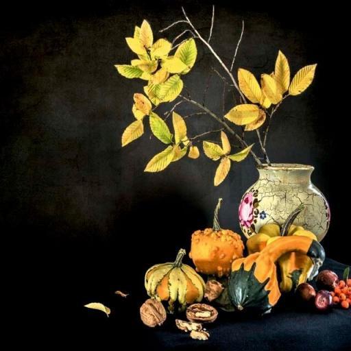 Cuadro en lienzo naturaleza muerta bodegón