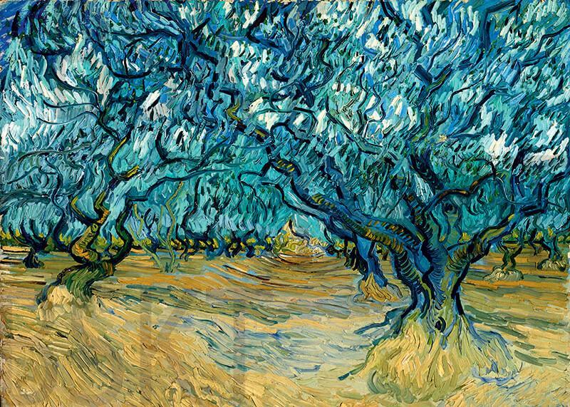 Cuadro en lienzo montado sobre bastidor Vincent Van Gogh impresionismo