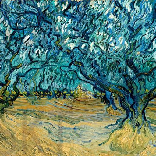 Cuadro en lienzo montado sobre bastidor Vincent Van Gogh impresionismo [0]