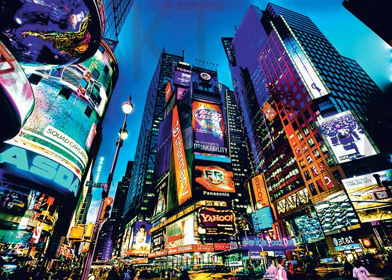Cuadro en lienzo Times square NY Nueva York
