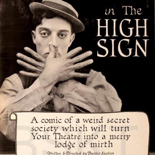 Cuadro en lienzo cine clásico vintage Buster Keaton