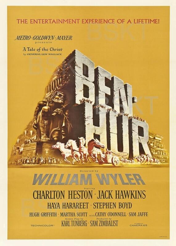 Cuadro en lienzo película Ben Hur