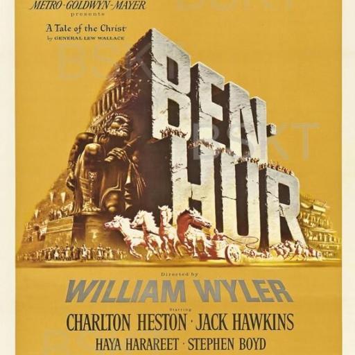 Cuadro en lienzo película Ben Hur [0]