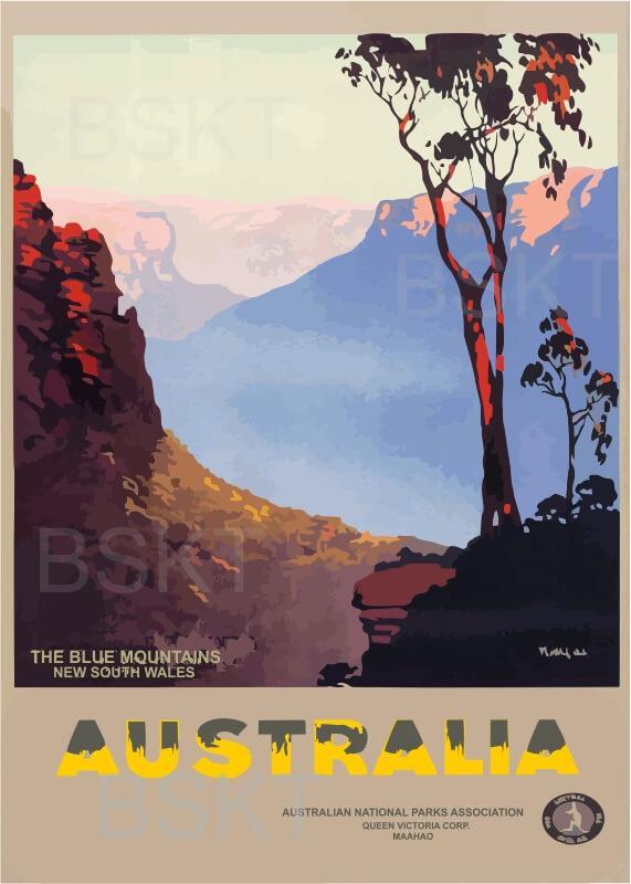 Cuadro en lienzo de la oficina de turismo australiana