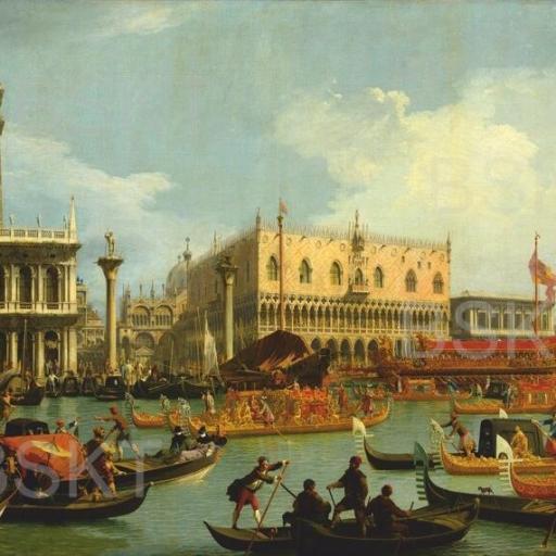 Cuadro tamaño mediano Canaletto Venecia