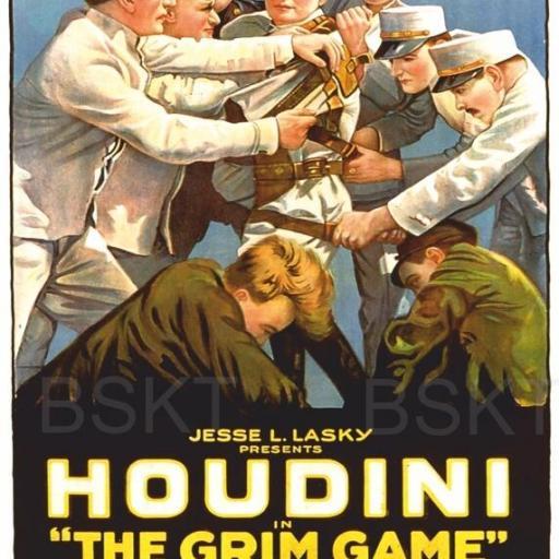 Cuadro en lienzo Houdini clásico vintage