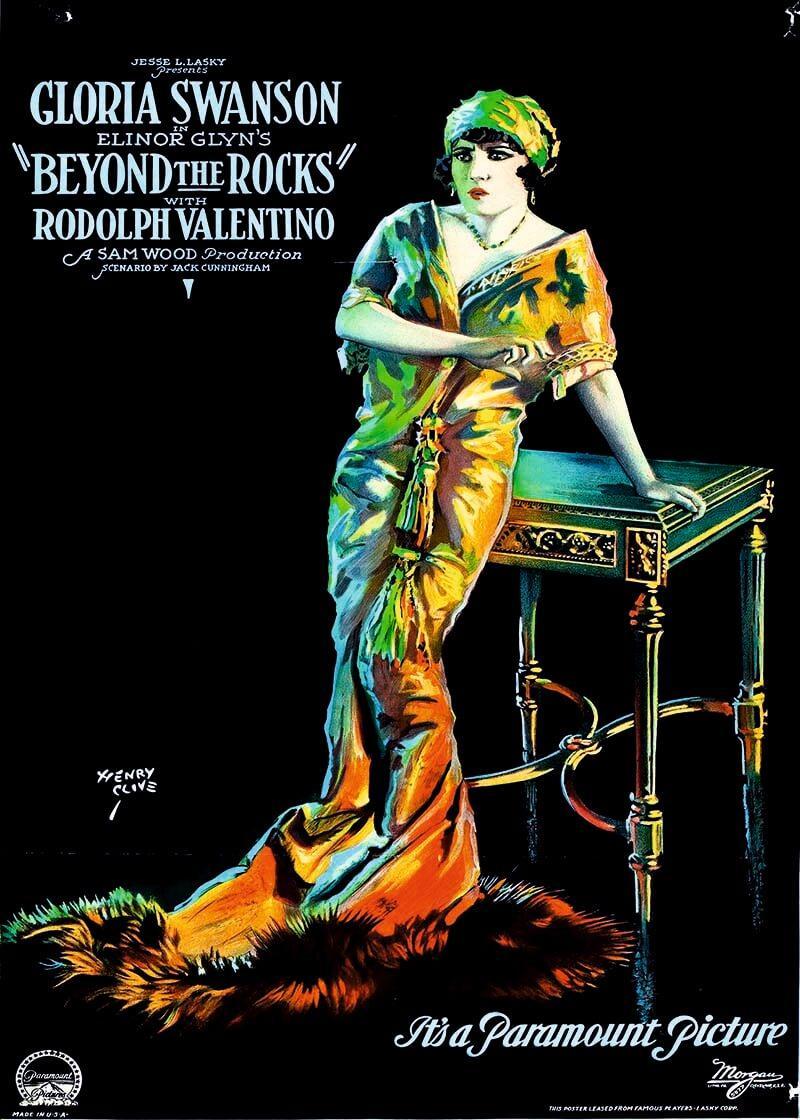 Cuadro en lienzo Rodolfo Valentino película