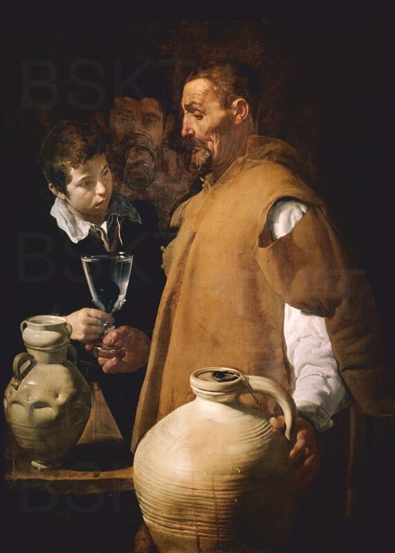 Cuadro en lienzo el aguador de Sevilla Velazquez