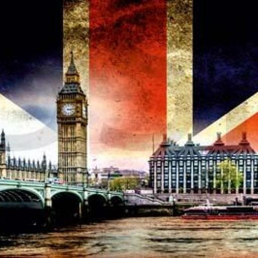 Cuadro en lienzo alargado Londres Big Ben