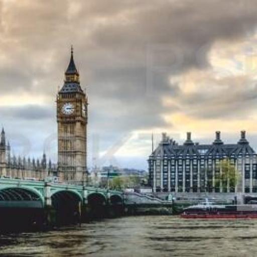 Cuadro en lienzo alargado Big Ben Londres