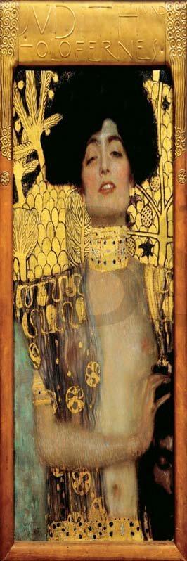 Cuadro en lienzo alargado Guiditta Klimt