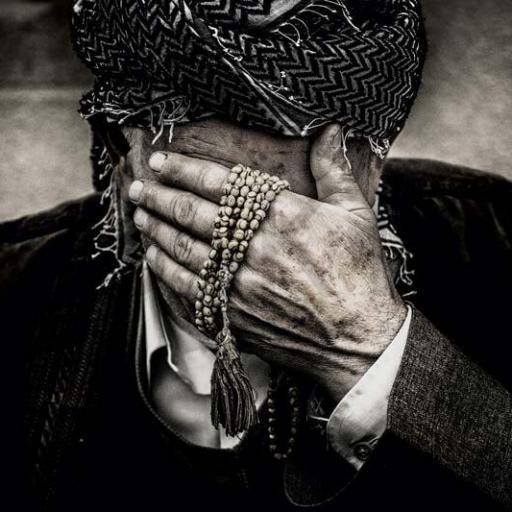 Cuadro en lienzo blanco y negro fotografía hombre