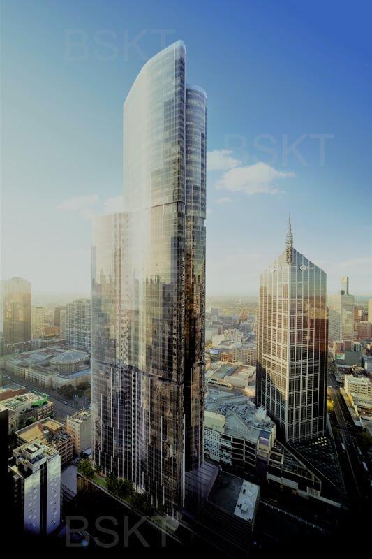 Cuadro en lienzo ciudades edificios rascacielos
