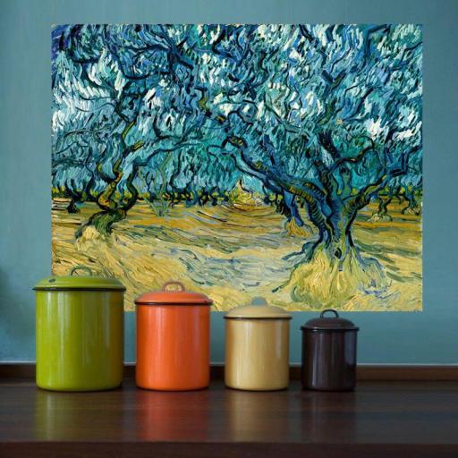 Cuadro en lienzo montado sobre bastidor Vincent Van Gogh impresionismo [1]
