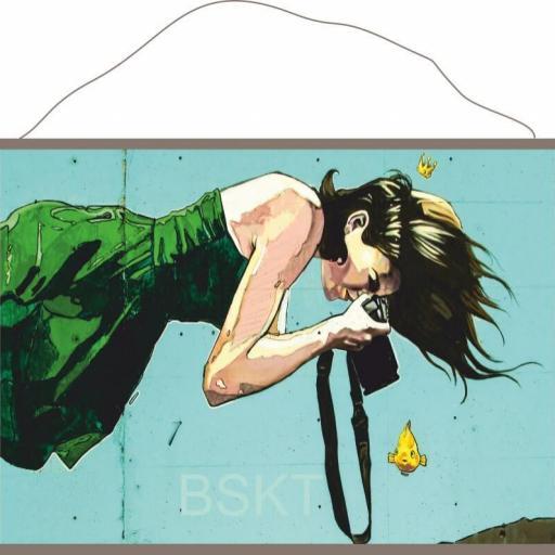 Impresión en lienzo para colgar graffiti