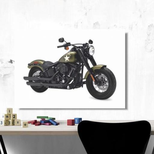 Cuadro en lienzo Harley Davidson [1]