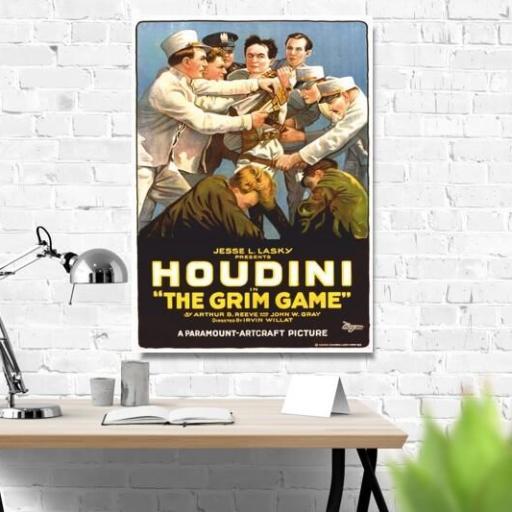 Cuadro en lienzo Houdini clásico vintage [1]