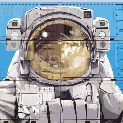 Cuadro en lienzo decorativo grande graffiti