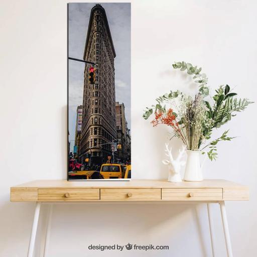 Cuadro en lienzo edificio Flatiron plancha Fuller Nueva York  [1]