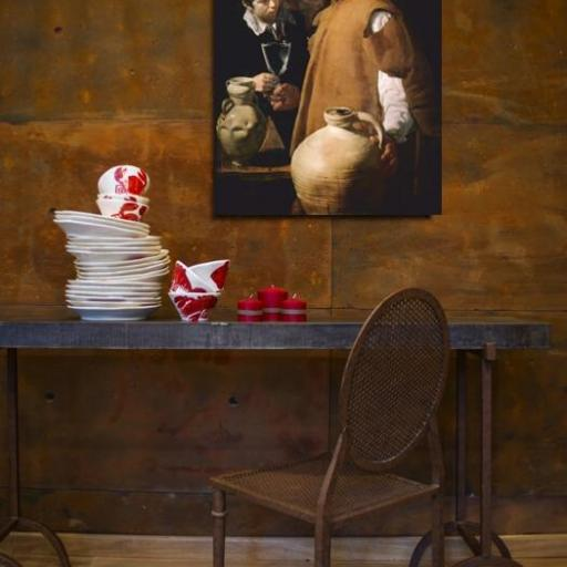 Cuadro en lienzo el aguador de Sevilla Velazquez [1]