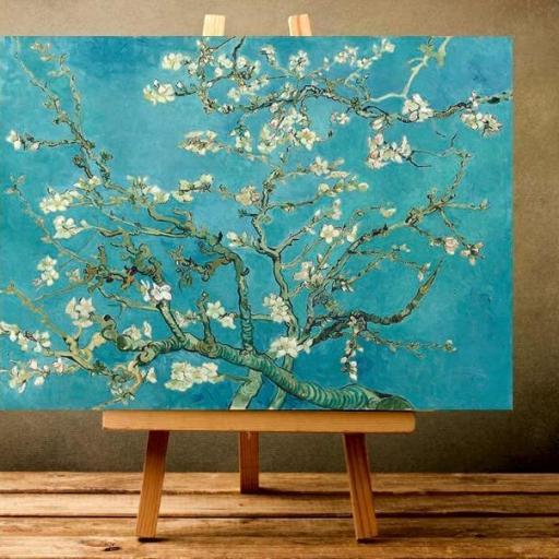 Cuadro impresionista Van Gogh almendro en flor  [1]