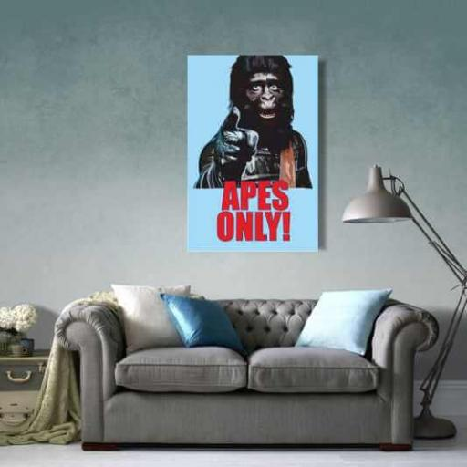Cuadro películas planeta simios pop art para habitación [1]