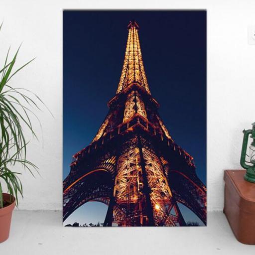 Cuadro en lienzo Torre  Eiffel Paris  [1]