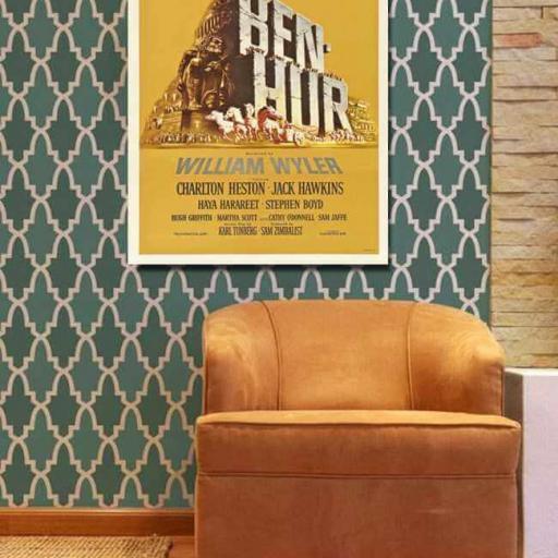 Cuadro en lienzo película Ben Hur [1]