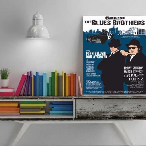 Cuadro en lienzo Blues Brothers  [1]