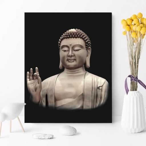 Cuadro en lienzo Buda budismo, imagen en alta resolución [1]
