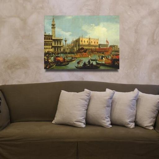 Cuadro tamaño mediano Canaletto Venecia [1]