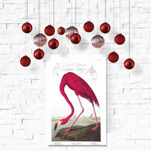 Cuadro en lienzo canvas flamenco para decoración de salón [1]