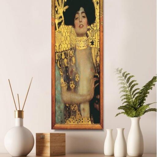 Cuadro en lienzo alargado Guiditta Klimt [1]