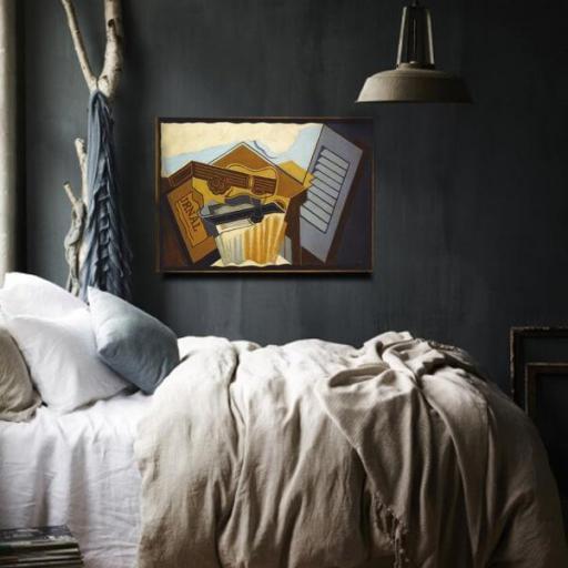 Cuadro en lienzo Juan Gris arte cubismo [1]