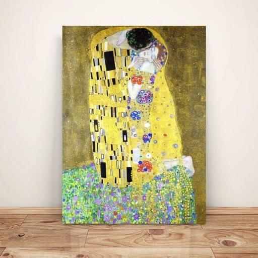 Cuadro famoso el beso de Gustav Klimt tamaño grande XXL [1]