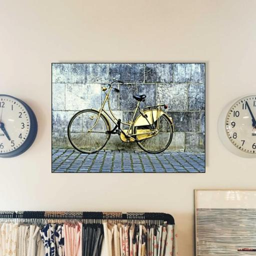 Cuadro en lienzo bicicleta vintage [1]