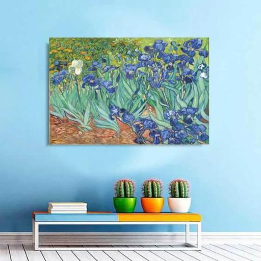 Cuadro en lienzo impresionismo Van Gogh lirios  [1]