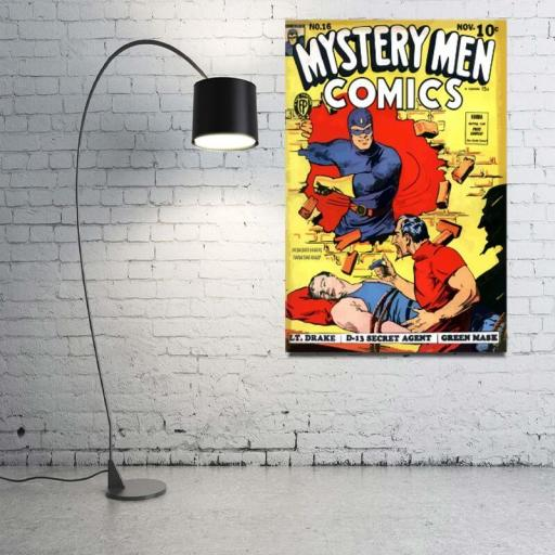 Cuadro en lienzo para decoración Mystery men comics [1]