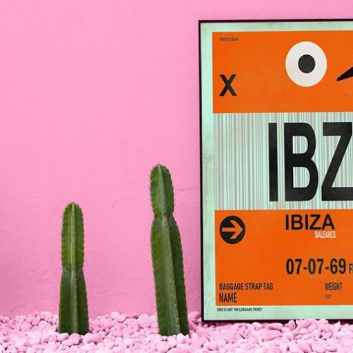 Cuadro en lienzo Ibiza alta resolución [1]