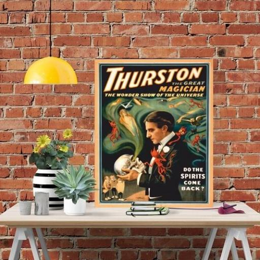Cuadro en lienzo para cocina mágia Thurston [1]