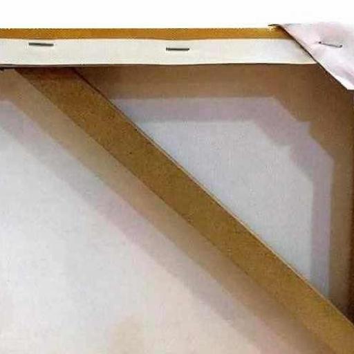 Cuadro en lienzo  alargado arte decorativo japonés fondo dorado garzas en pino [2]
