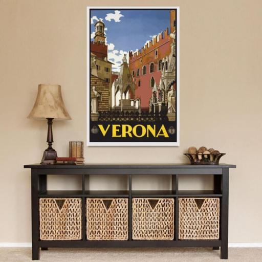 Cuadro en lienzo de Verona Italia [1]