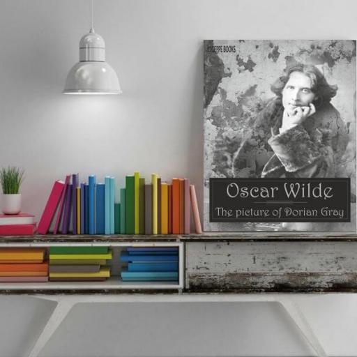 Cuadro en lienzo Oscar Wilde Retrato de Dorian Gray [1]